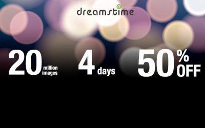 Megawyprzedaż w Dreamstime. Tylko do poniedziałku!