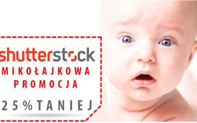 Mikołajkowa obniżka w Shutterstock